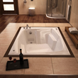 Atlantis Caresse 54 x 72 x 23 - Inch Rectangular Air Jetted Bathtub 5472CAL