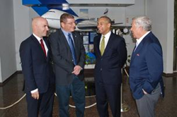 Gov. Deval Patrick and MA leaders
