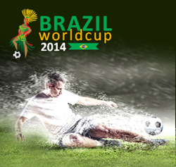 Brazil Football World Cup 2014