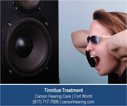 Tinnitus Treatment - Fort Worth - Carson Hearing Care