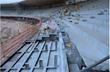 Seats 64,000 spectators: the grandstands at the famous Mineirão Arena in Belo Horizonte under construction.
