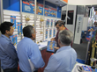 Richard Apodaca Assisting Visitors at Febtech Mexico 2014