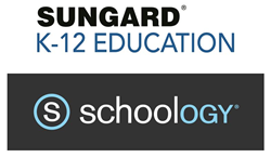 SunGard K-12 Education and Schoology Logos