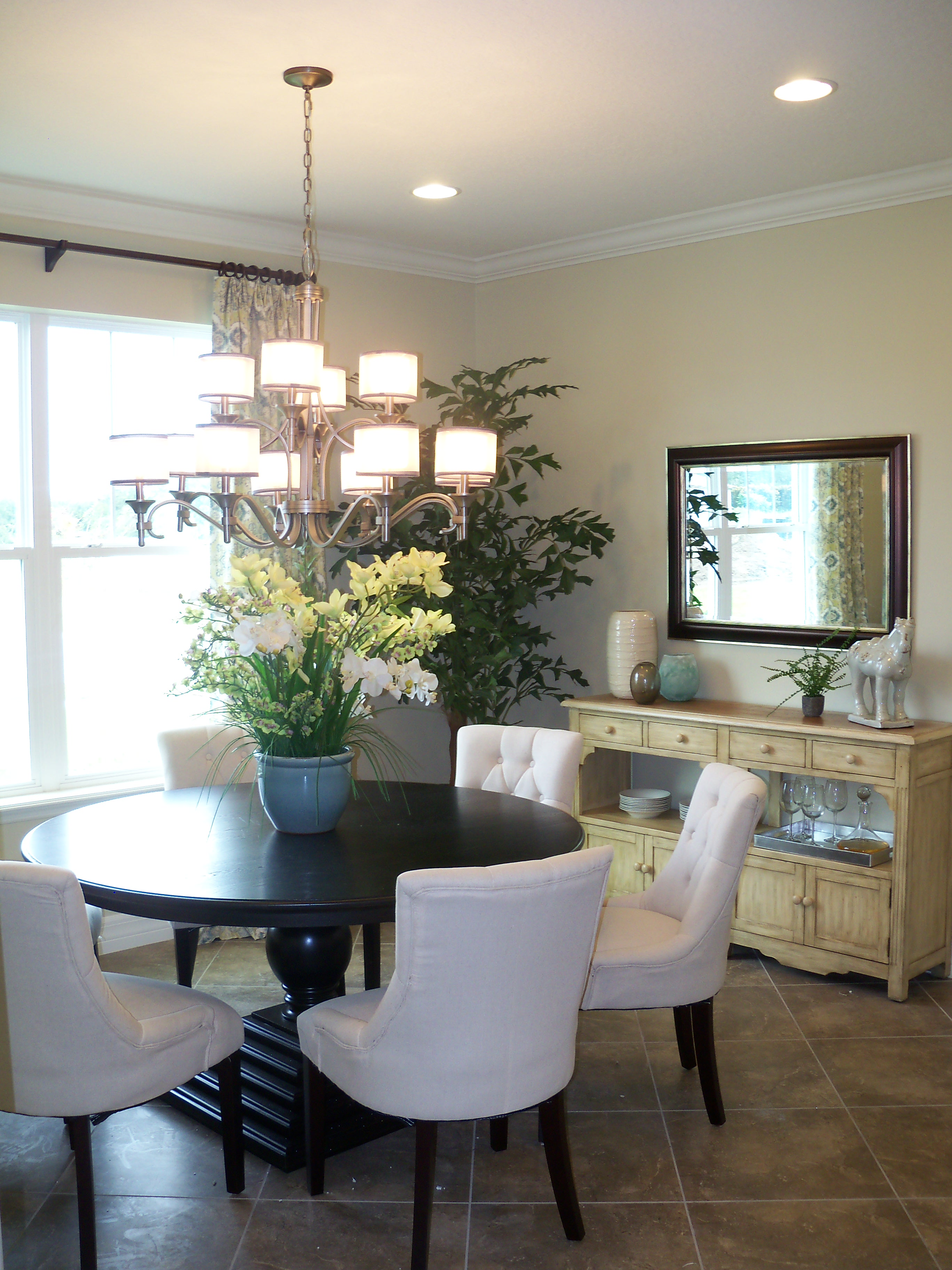 the kaya model wins the production home grand in 2014 parade of the formal dining by beasley henley interior design