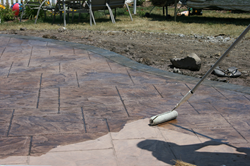 concrete, sealer, concrete sealer, sealer application, stamped concrete