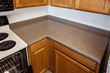 Miracle Method used Natural Accents to give the countertop a stone look, giving it a modern upgrade