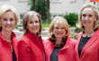 The Flynn, Health, Holt Partners, left to right: Jill Flynn, Diana Faison, Mary Davis Holt, and Kathryn Heath.