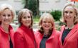 The Flynn, Health, Holt Partners, left to right: Jill Flynn, Diana Faison, Mary Davis Holt, and Kathryn Heath.