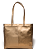 Jill Milan Tiburon Tote in gold metallic (SKU B1402GM99)