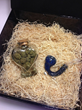 A monthly marijuana subscription box with exotic and private reserve strains.