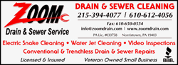Philadelphia Drain Cleaning and Clog Removal