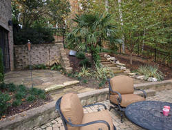 Stone Patio Design Charlotte NC
