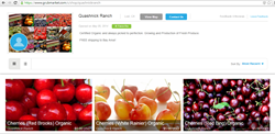 Fresh Organic Cherries with the Most Affordable Price in San Francisco Bay Area