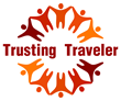 Author's Trusting Traveler Logo