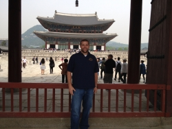 EKU Professor Greg Gorbett, who was cited as one of the nation's top five fire experts in 2013, traveled to South Korea to speak about the use of computer fire modeling.