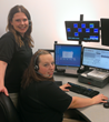 Dawson County call takers Nicole Purvis & Tasha Tolbert