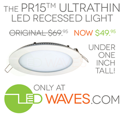 pr15 ultrathin LED recessed light new low price