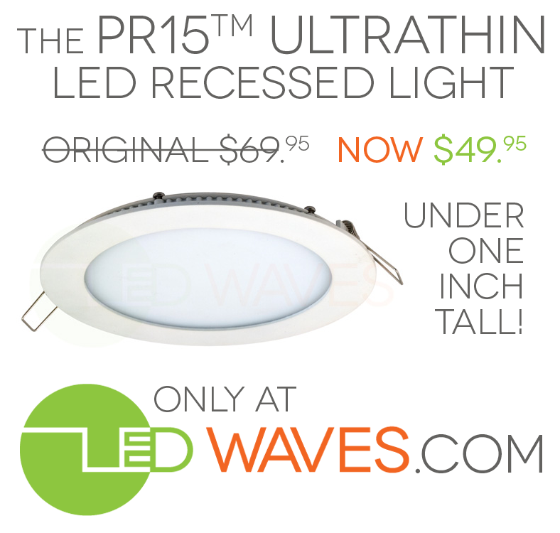 ultra thin recessed lighting led waves offers new low price on the pr15 ultrathin recessed light