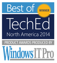 Best of TechEd Winner 2014