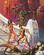 John Carter of Mars art by Joe Jusko