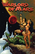 Illustrated cover for Warlord of Mars by Joe Jusko