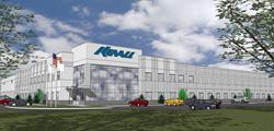 Kenall facility rendering