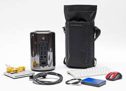 Mac Pro Go Case—with contents