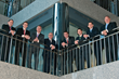 Four Seasons Wealth Management St. Louis, MO-based principals, pictured from left to right: Bill Kallaos, Jr., Travis Freeman, Kevin Grelle, Dale Terrell, Danton Troyer, Tim Banks, Daniel Klein and Stephen Wedel.