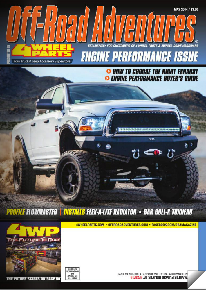 transition at 4 wheel parts 39 off road adventures magazine. Black Bedroom Furniture Sets. Home Design Ideas
