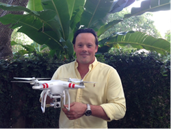 Miami Realtor Michael Light with Drone