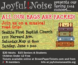 Joyful! Noise Spring Concert