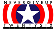 Captain America NeverGiveUp26 Logo