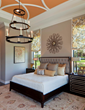 Vibrant Bedroom at the Palmhurst model, by Beasley & Henley
