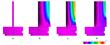 Thermal image of temperature