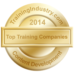 InfoPro rated as a TOP 20 Content Development Company by TrainingIndustry.com