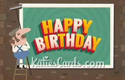 New Billboard Birthday Ecard