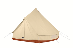 Shelter Co. Supply Meriwether Tent in burnt orange color option.
