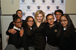 Abigail Breslin with New York City ChildSight Students at 2014 Spirit of Helen Keller Gala