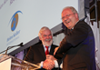 Tom Arnold and Ambassador David Donoghue at 2014 Spirit of Helen Keller Gala