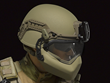 Revision's fully integrated, fully modular Batlskin Viper Head Protection System features an advanced helmet shell, liner and retention system with a universal attachment point for visor, mandible guard and NVG use