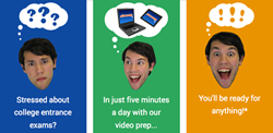 Get ready for college entrance exams in just five minutes a day with Shmoop's Video Test Prep.