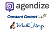 Agendize Integrates with Constant Contact and MailChimp