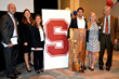 Stanford University Golden Shovel Team, Five Trees (from left to right): Anthony Gonzalez (MBA '14), Virginia Calkins (MBA '15), Carrie Denning (MBA '15), Rodrigo Juarez (MBA '15), Grace Stephens (MS