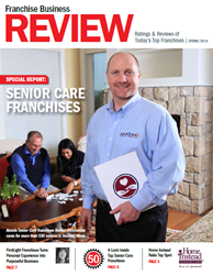 Amada Franchise Partner Robert Christensen Makes Cover of FBR's Senior Care Franchises Issue