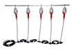 Class 1 Division 1 Explosion Proof String Light Set Equipped with 10 Drop Lights
