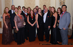 Breckenridge Grand Vacations attendees of the 2014 ARDA Awards Gala