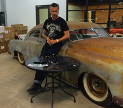 Fast N' Loud Gas Monkey Garage MagneticSkins Patio Table