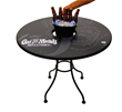 Signed Gas Monkey Garage Bucket Table Kit