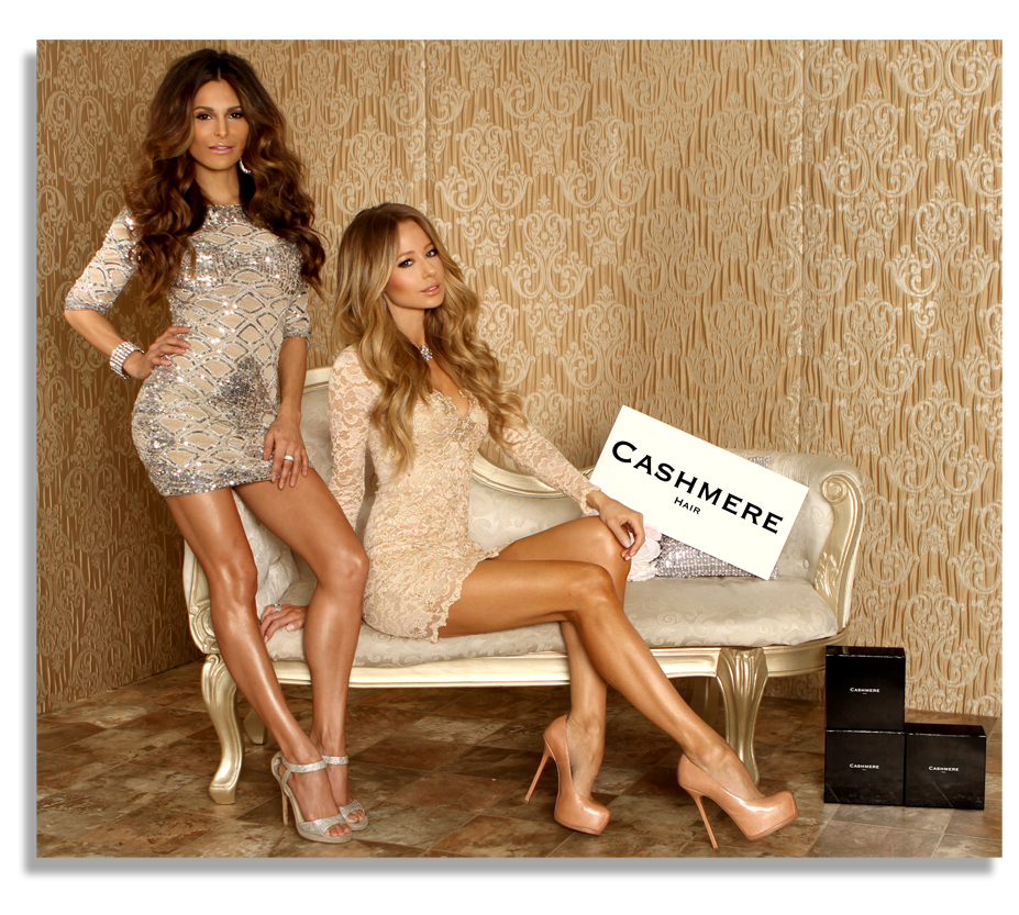 Cashmere hair extensions will appear at the international beauty media pmusecretfo Images