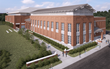 A conceptual image of the Graham Building at Bucknell University